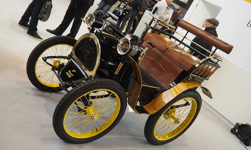 Renault Type A 1898 , la première Renault ????? 38669580740_152f71b612_c