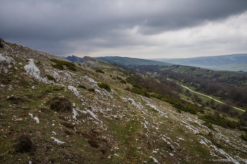 Por las crestas de Ollide