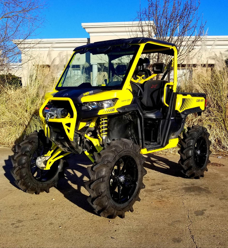 "Can Am Xmr >> Landon's Defender XMR CATVOS 8"" lift, Turner Level 2 axles ..."