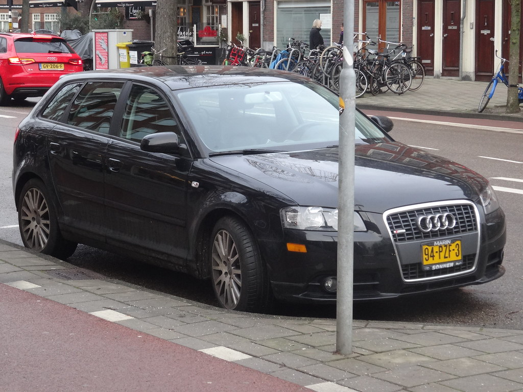 2007 audi a3 the second generation of the audi a3 was sold flickr. Black Bedroom Furniture Sets. Home Design Ideas