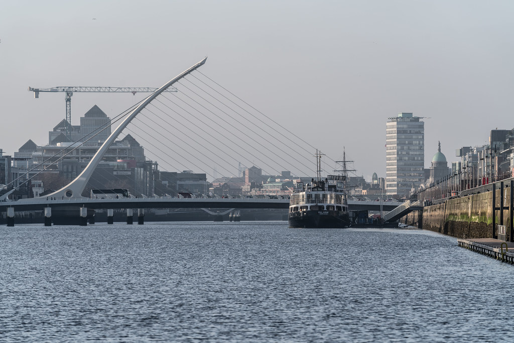 THE SAMUEL BECKETT BRIDGE 11 JANUARY 2018 004