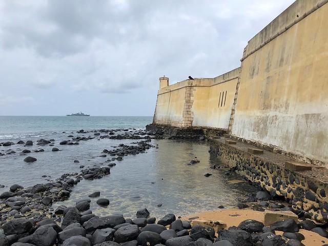 Forte de Sao Sebastiao en Santo Tomé y Príncipe