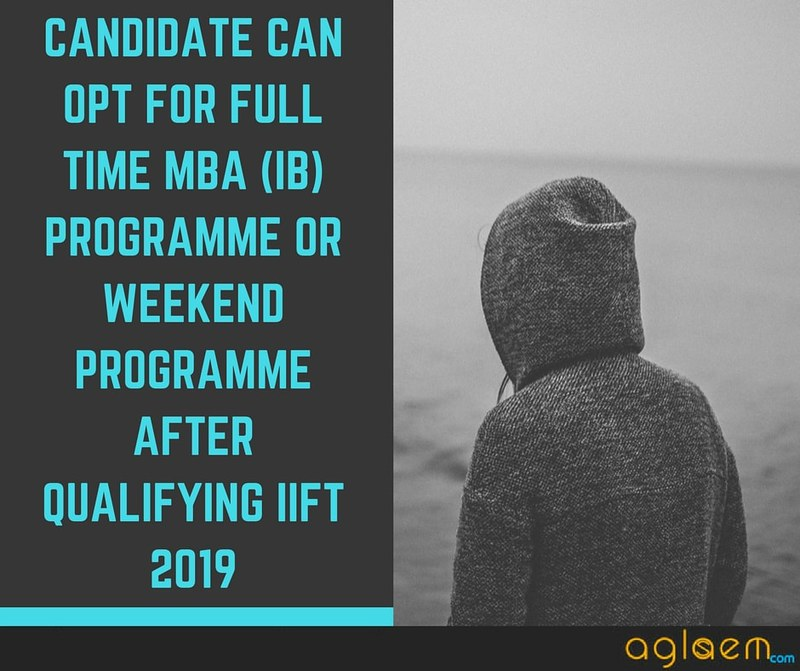 IIFT Admit Card for MBA (IB) 2019