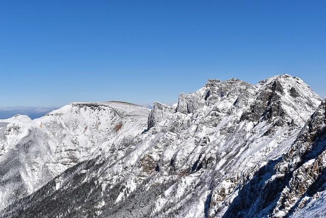 冬の八ヶ岳 雪の横岳~硫黄岳