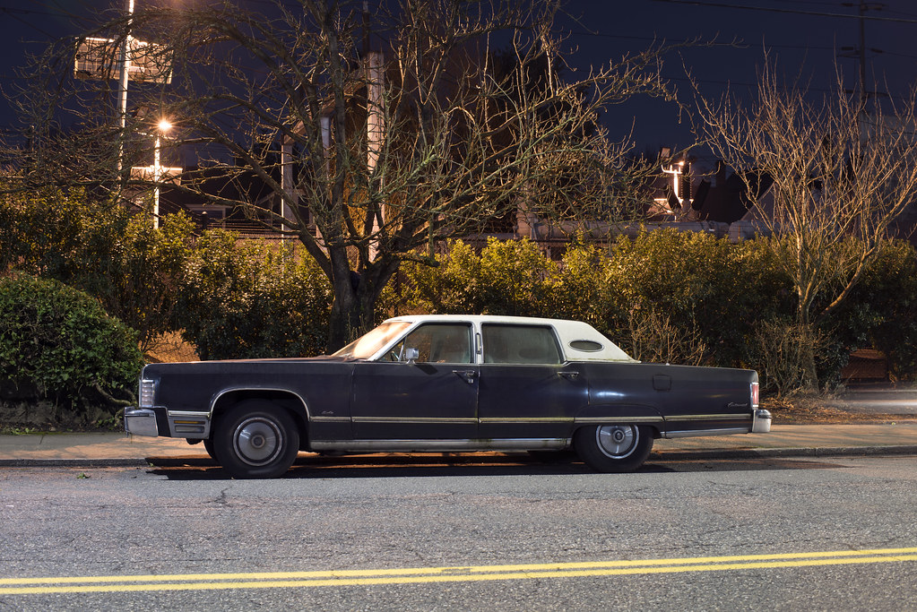 1975 Lincoln Continental Town Car Portland Oregon Curtis Perry