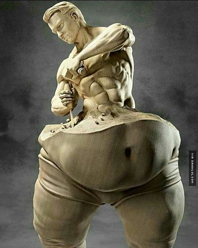 training Carve your body. #Carving...