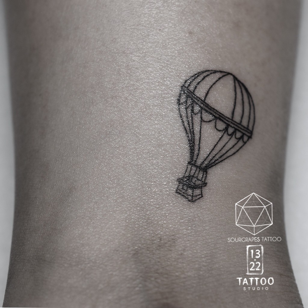 Micro hot air balloon tattoo mr j best sourgrapestattoo flickr micro hot air balloon tattoo by 1322 tattoo studio gumiabroncs Gallery