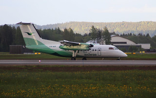 LN-WIR De Havilland Canada DHC-8-103 Dash 8, cn273 Wideroe at Oslo ENGM | by Krister Karlsmoen