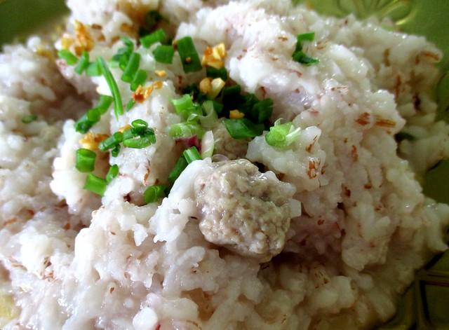 Meatball porridge