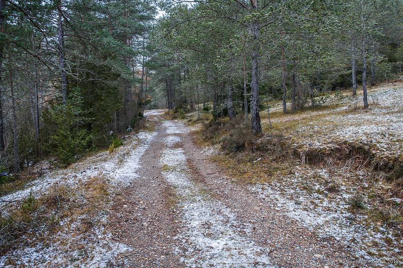 Camino del Molí del Quirze a Sant Jaume de Frontanyà