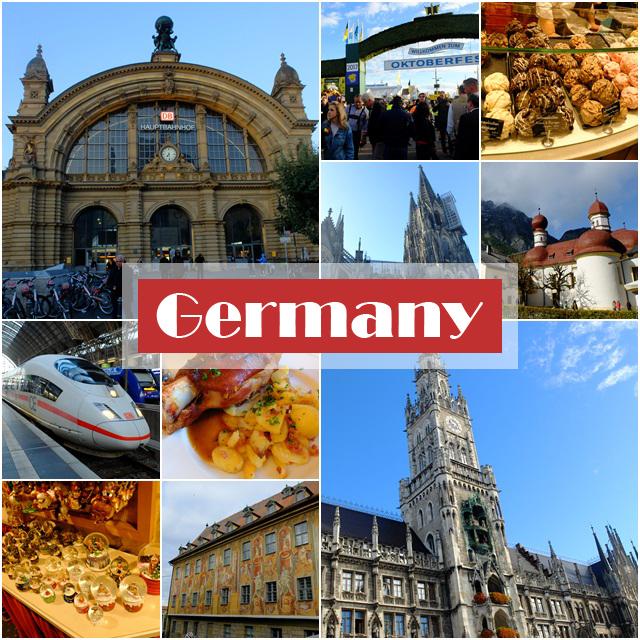 德國邂逅羅曼蒂克之18日自由行總覽及整理心得
