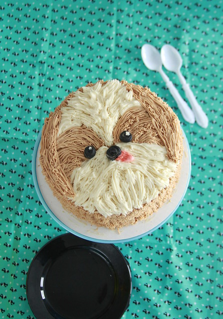 Lunar New Year Dog Cake