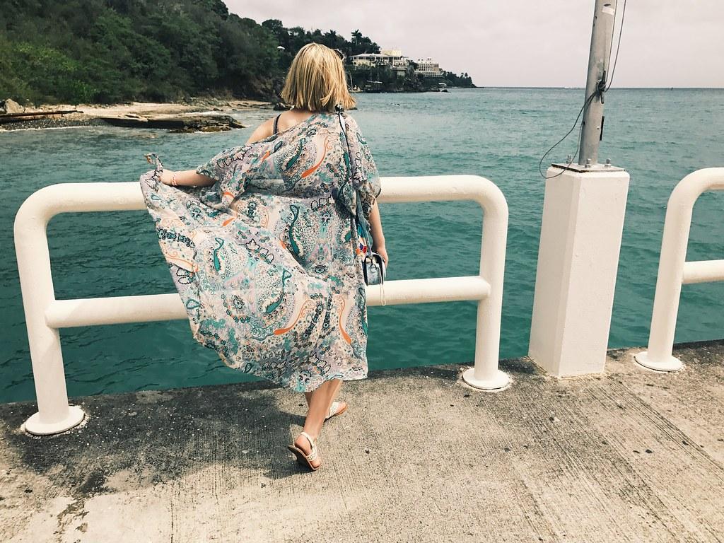 flowing kimono