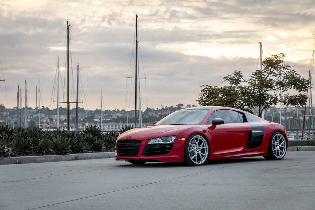 Audi R Gen VSF Brushed Aluminum Wheels VSF Flickr - Audi sf