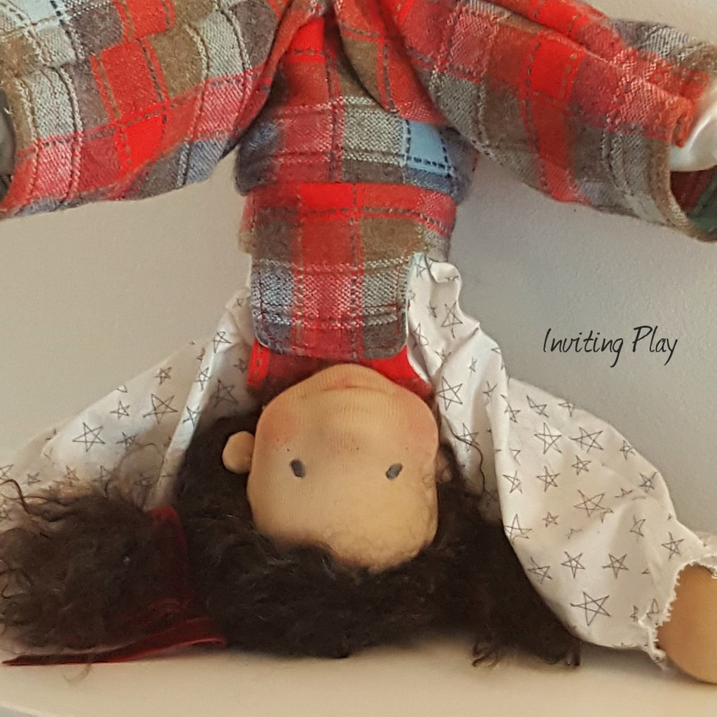 "Cassie by Inviting Play a 19"" Handmade doll"