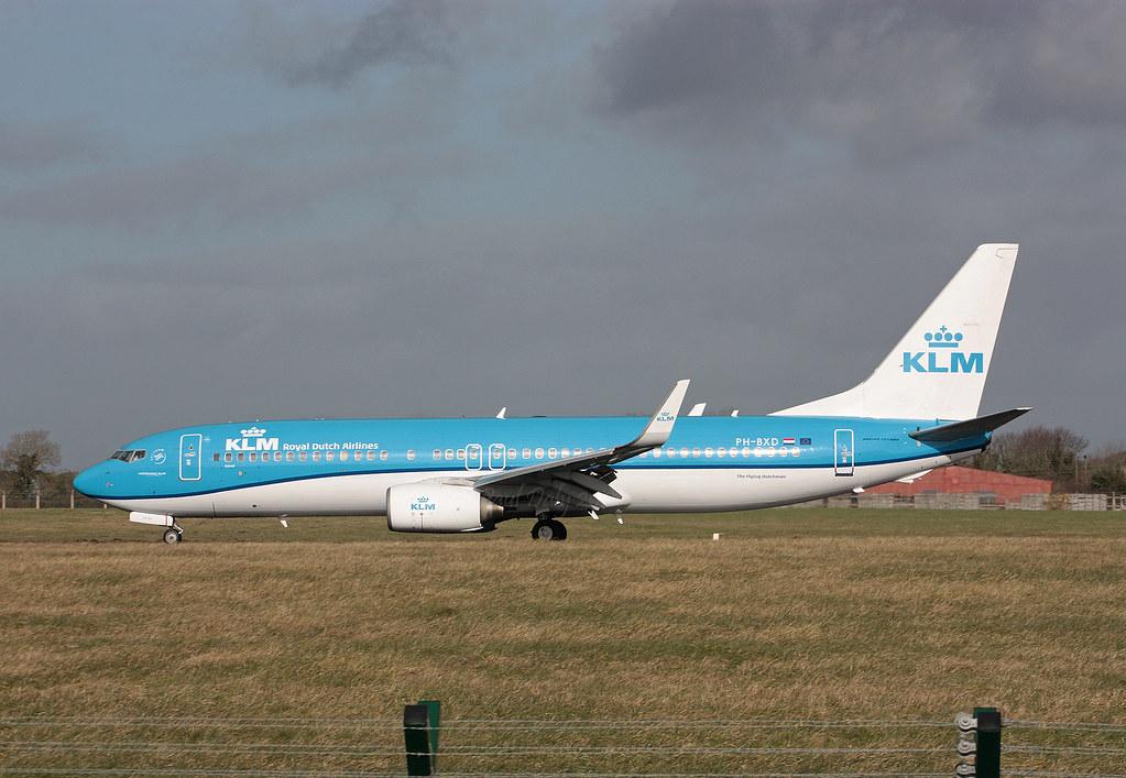 PH BXD Boeing 737 8K2 KLM