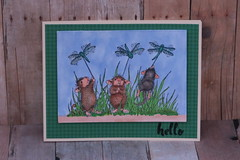 Hello Dragonfly Mice by kcscrpbkr (Karen L K)