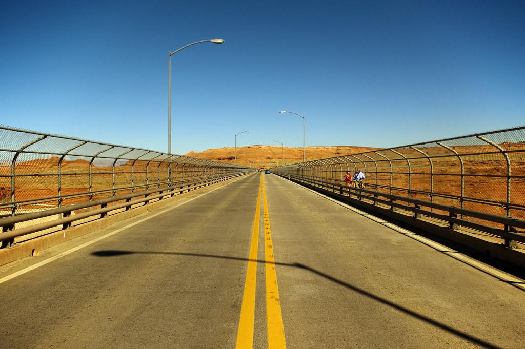 Photo Favorite: Glen Canyon Dam Bridge, Page, Arizona, October 10, 2015 (Pentax K-3 II)