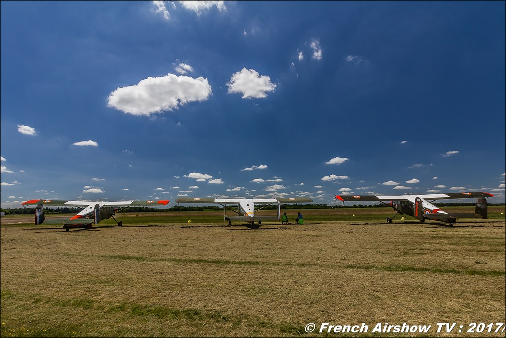 Max-Holste MH-1521 Broussard , Fly in LFBK 2017 , Fly-in Saint-Yan 2017 , Meeting Aerien 2017