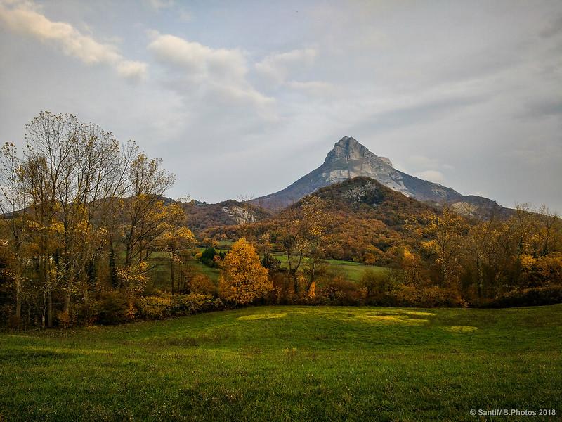 Sierra de San Donato en otoño