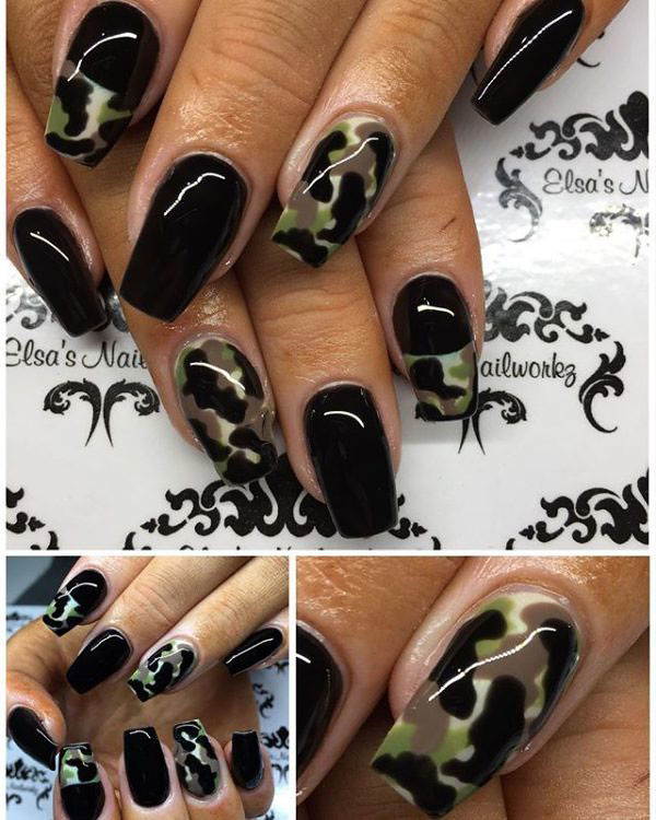 ... 10-Camouflage-Nail-Designs | by mohamedshokr49 - 10-Camouflage-Nail-Designs محمد شكر Flickr