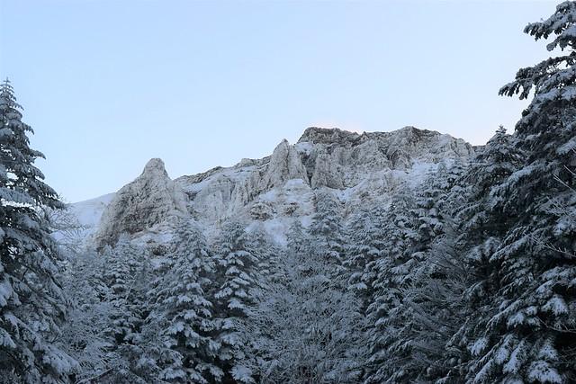 冬の八ヶ岳 雪山登山