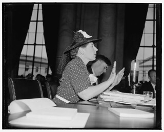 Dorothy Detzer, executive secretary of Women's Int. League: 1939 | by Washington Area Spark
