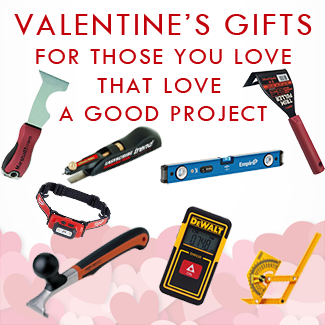 Valentine's Gift Guide for the DIYer you love.