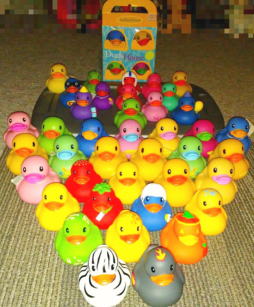 2006 to 2017 Infantino Rubber Duckies. | Patchy62 | Flickr