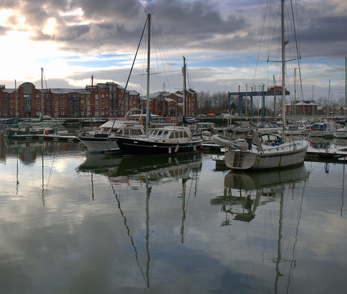 Scenic Preston Docks | by Tony Worrall
