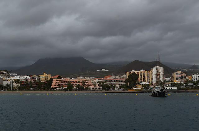 Los Cristianos, February, Santa Cruz, Tenerife
