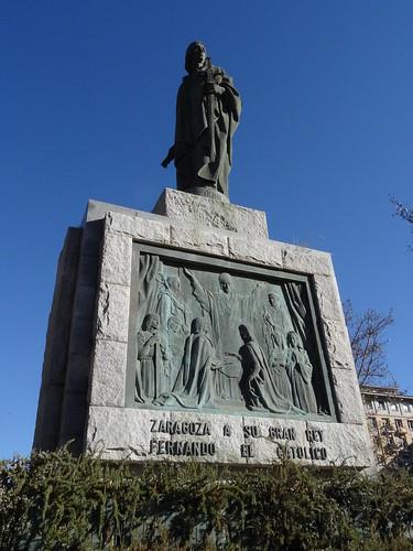 Monumento a Fernando el Católico