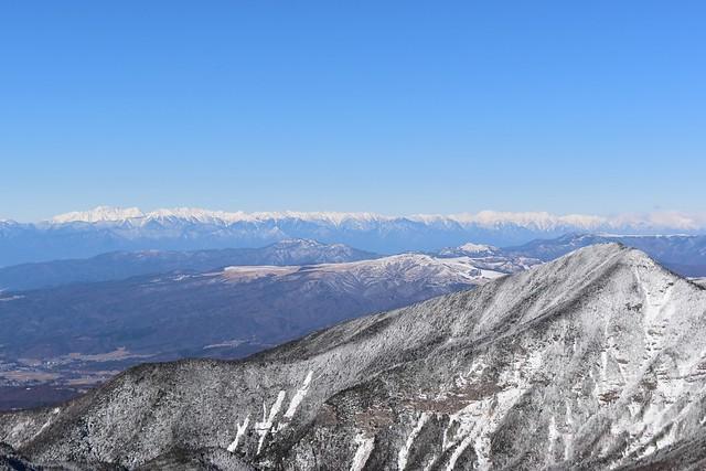 雪の北アルプス
