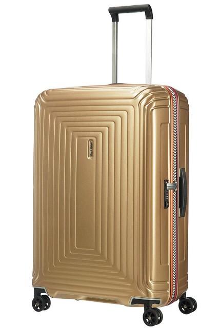 Samsonite, maleta neopulse acabado oro