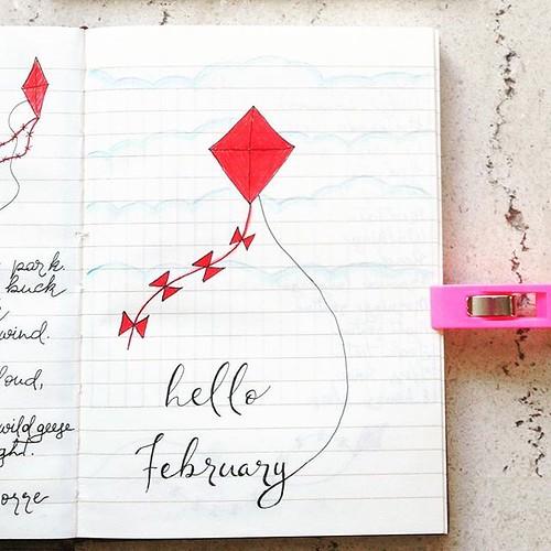 doodle Hello February...