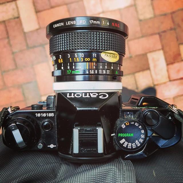 Canon FD 17mm f4 ssc 佳能古早超廣角