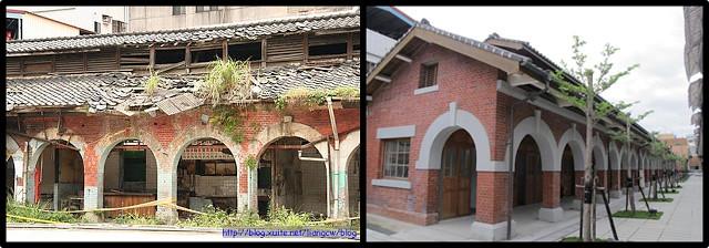 5_士林市場整修前及整修後可以看出日式建築的特色。(圖片來源:Source)