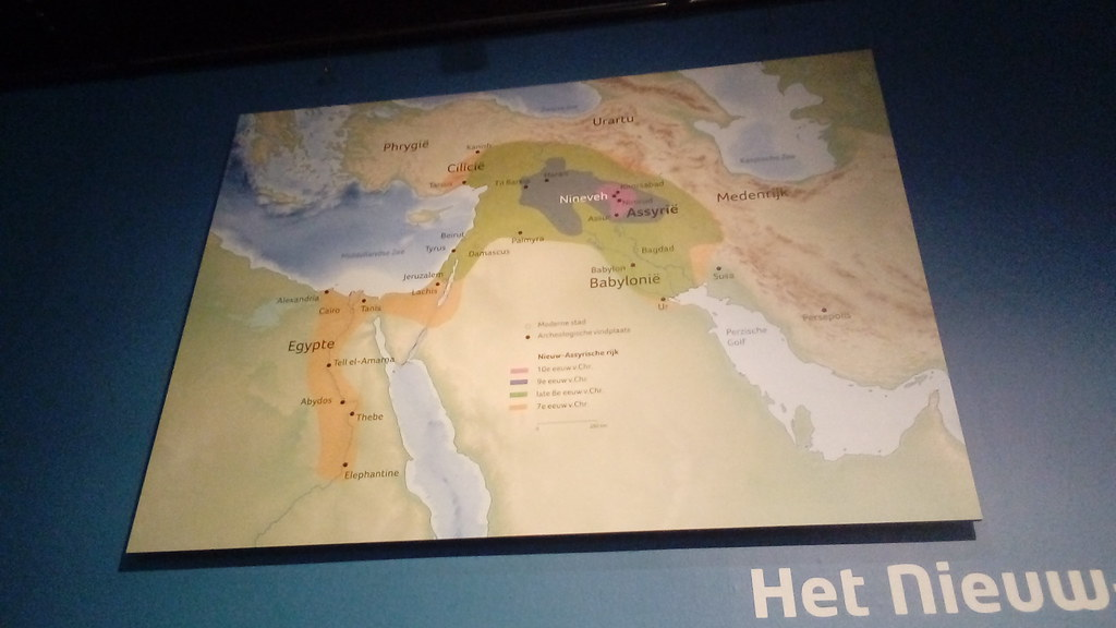 Map of ancient Middle East | Egypt, Assyria, Babylonia etc. | Flickr