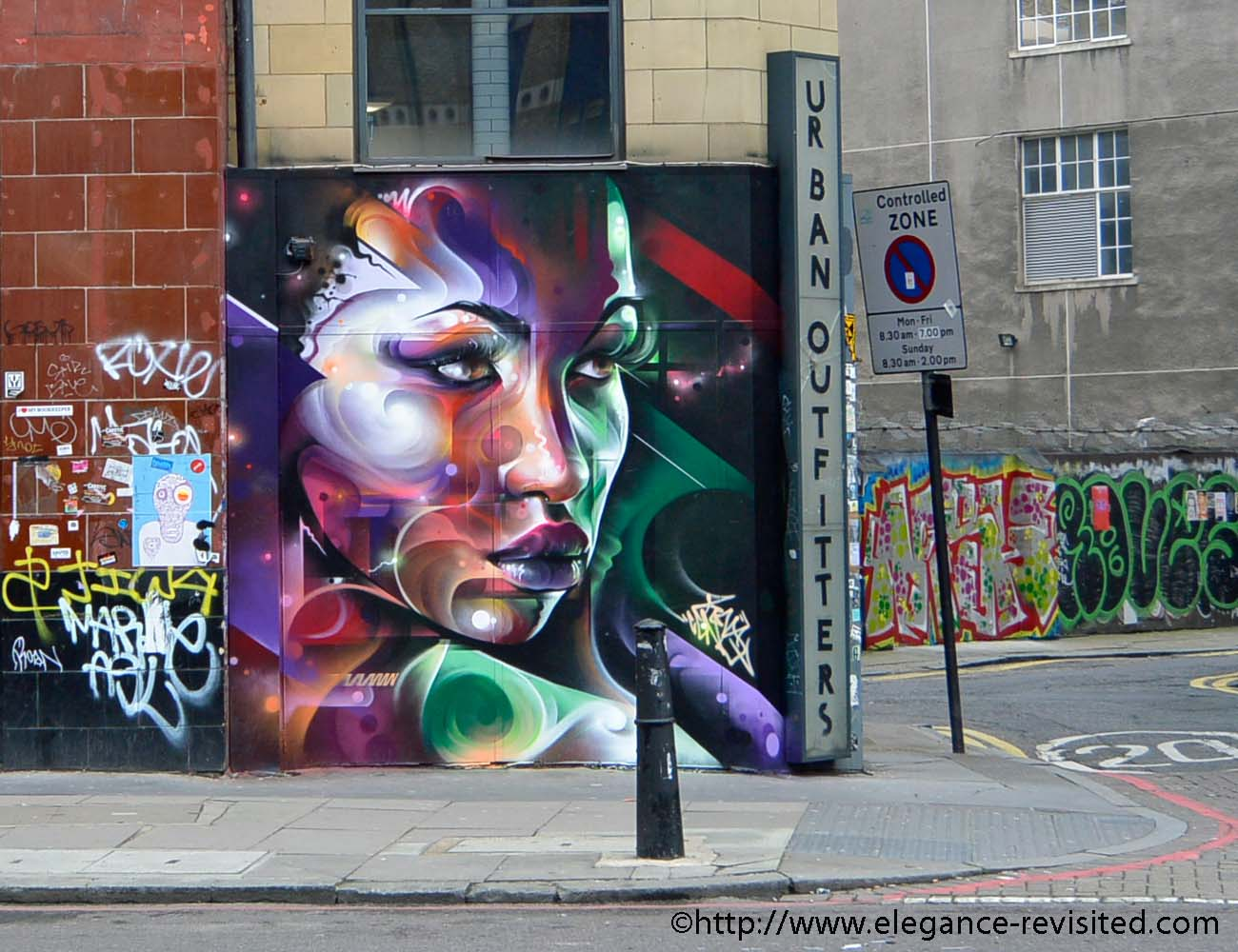 graffiti in London