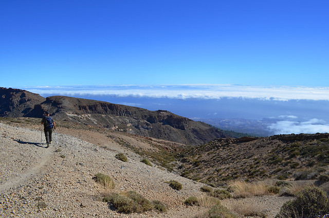 January, above the clouds, Teide National Park, Tenerife