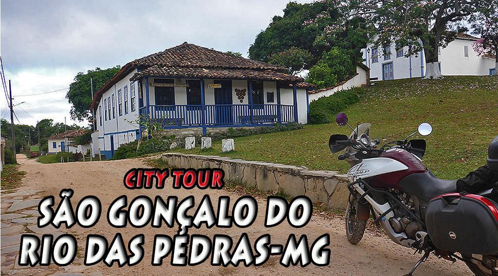CITY TOUR = SÃO GONÇALO DO RIO DAS PEDRAS/MG