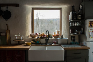 Winter Kitchen Sink and View | by goingslowly