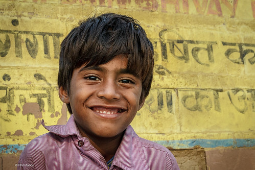 Young resident of the streets of Varanasi. India | by Phil Marion
