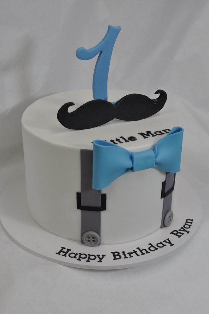 Little Man Birthday Cake Jenny Wenny Flickr