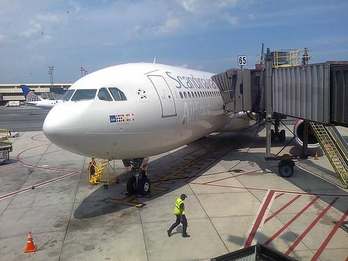 SK903 har landat.