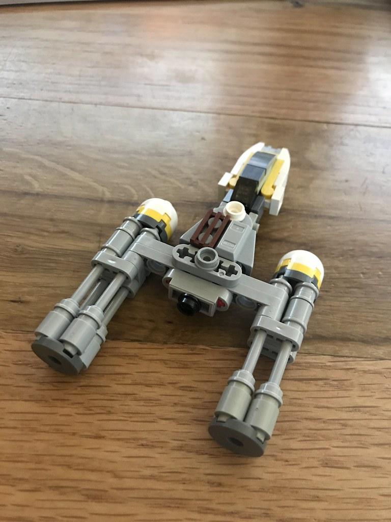 Lego Y Wing Build Instructions Brohan Niemerstein Flickr