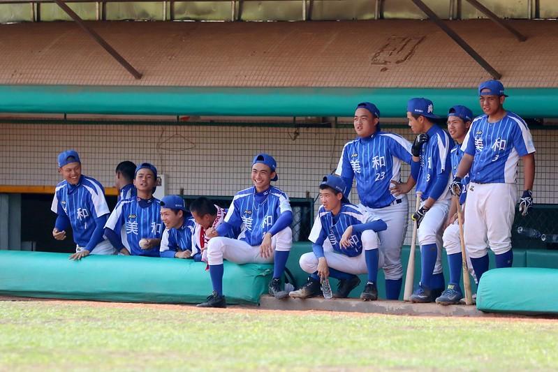 美和高中棒球隊。(學生棒聯提供)