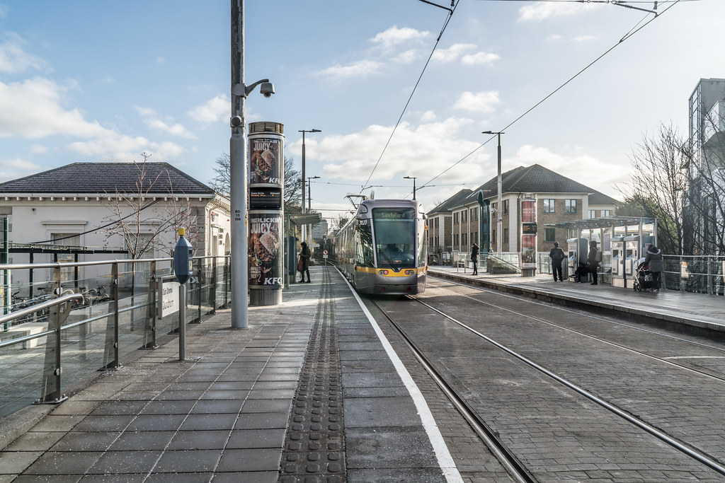 DUNDRUM TRAM STOP - JANUARY 2018 001