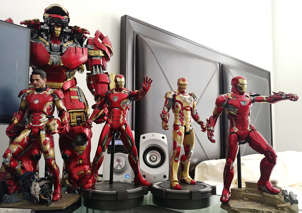 iron man mark 42 43 44 45 46 16 hot toys