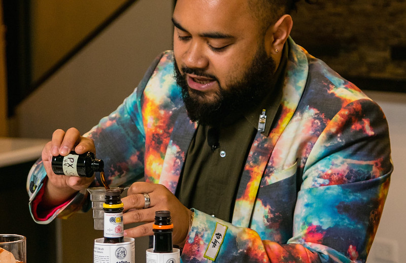 Angostura Global Cocktail Competition 2018 winner; Ray Letoa, New Zealand